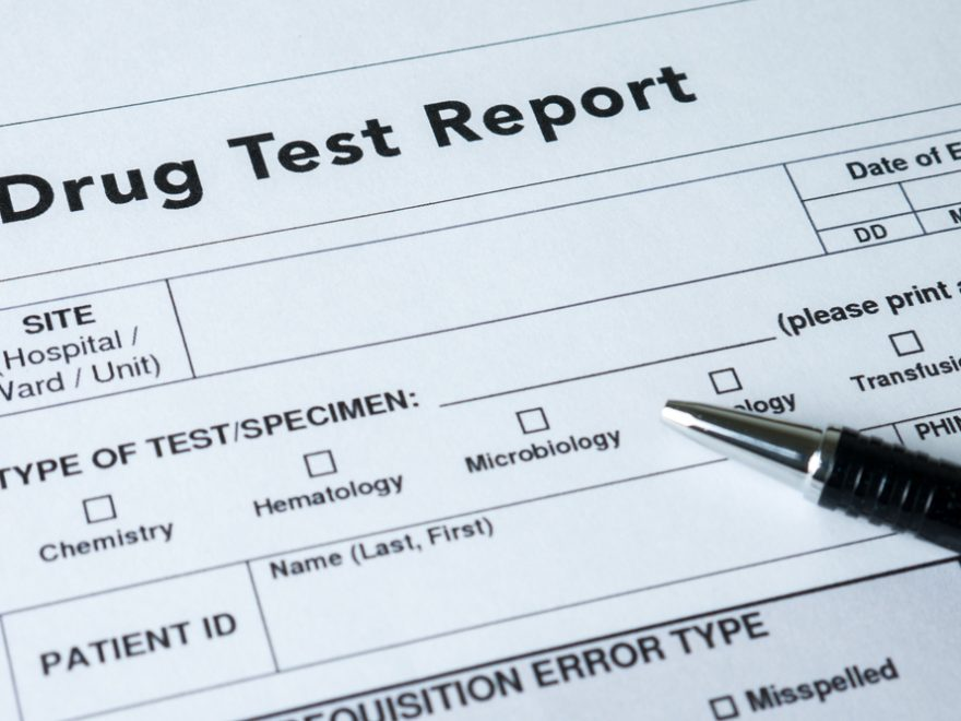 Drug Test Report Image